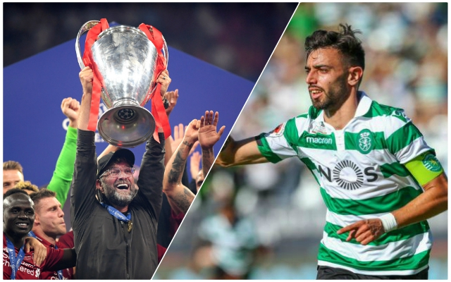 Reds battling Premier League pair for Bruno Fernandes – Record