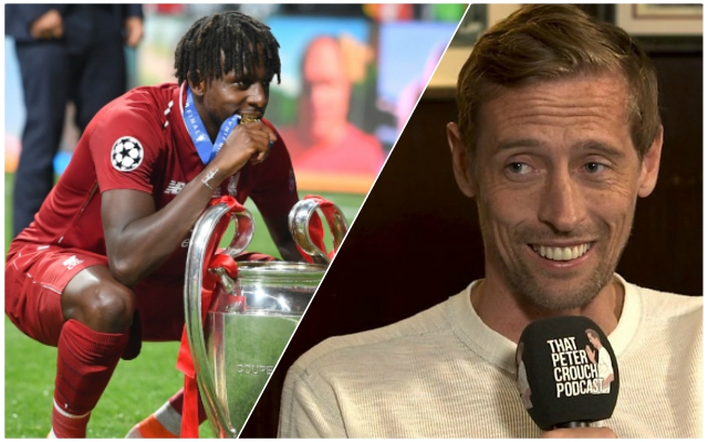 Peter Crouch hilariously jokes he's naming newborn son after CL hero