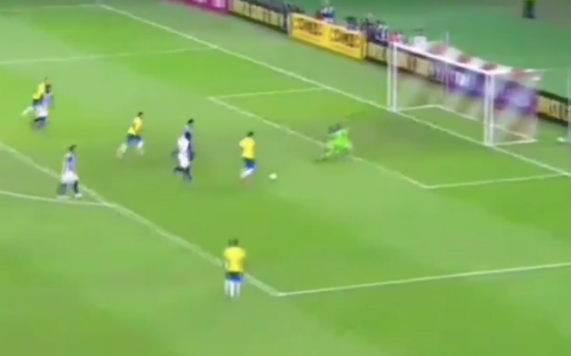 (Video) – Firmino scores cheeky chipped finish in Brazil thrashing