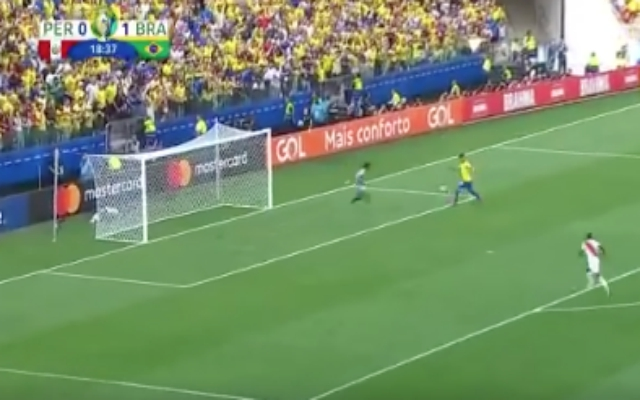 (Video) – Bobby Firmino scores sublime no-look goal for Brazil