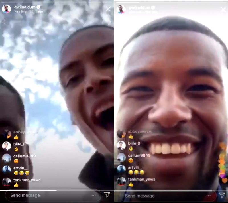 (Video) Wijnaldum drops phone off bus during UCL victory parade