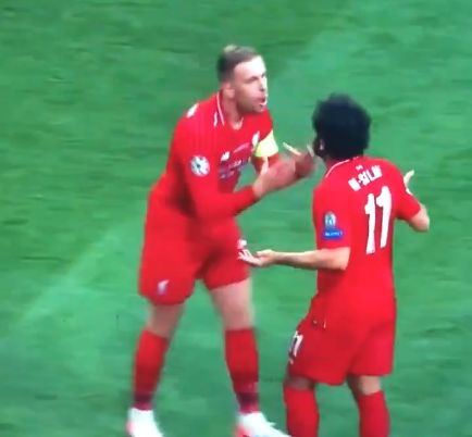 (Video) Hendo's brutal reaction to Salah's 'press' shows how brilliant a leader he really is