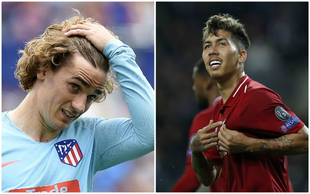 Watch Klopp's face as he sees Griezmann messaging Firmino on Champions League victory parade