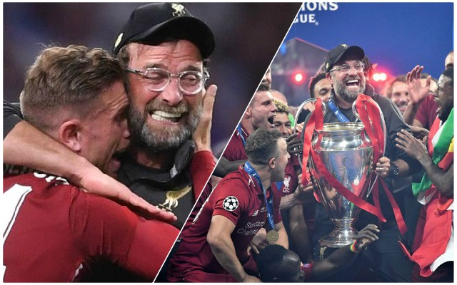 Reds fans will absolutely love Klopp's emotional reaction to Champions League victory parade