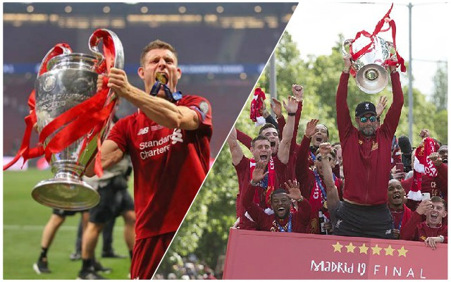 Brilliant James Milner Champions League trophy story sums up the legend he is