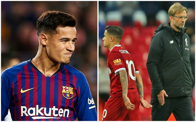 Philippe Coutinho makes Barca admission and proves Jurgen Klopp was right