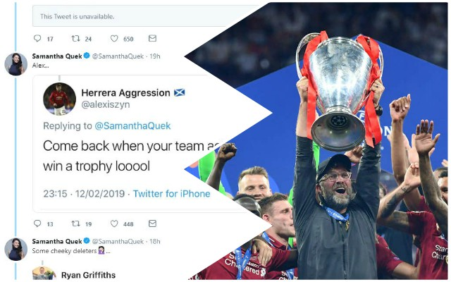 Reds fan hilariously trolls Twitter haters who laughed at Liverpool throughout the season
