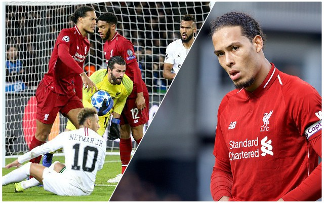(Video) Three minutes of pure bliss as Van Dijk dominates top-class attackers