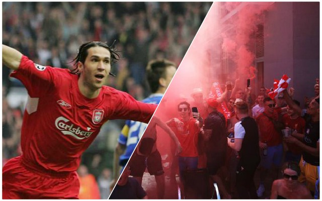 (Video) Reds fans belt out Luis Garcia's song – the Spaniard reacts