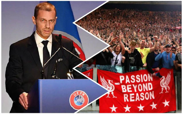 UEFA president delivers promising news about UCL ticket allocations that Reds fans will love
