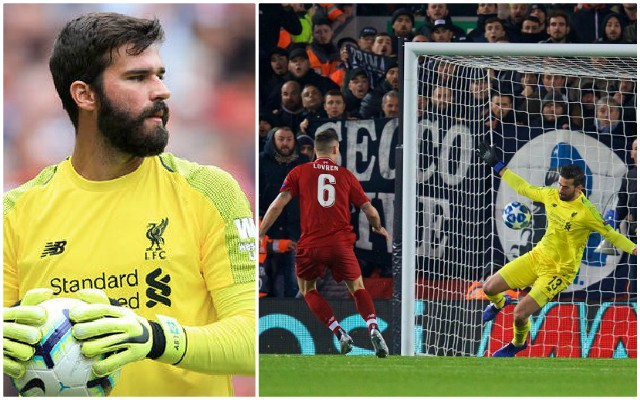 "'Scary': Alisson heaps praise on ""special"" Reds teammate"