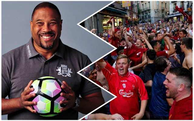 (Video) Amazing moment John Barnes does the Anfield Rap on stage in Madrid