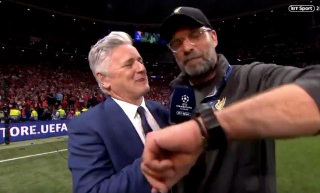 Video: Jurgen Klopp gives brilliant interview response after LFC win sixth CL title
