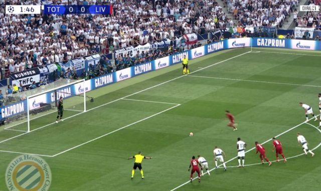 Video: Salah fires home brilliant pen just 107 seconds into Champions League final