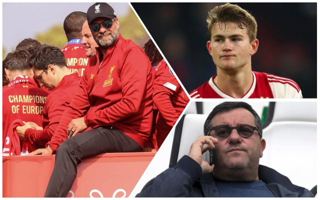 Reds would have to shatter their wage structure to land De Ligt – Mirror