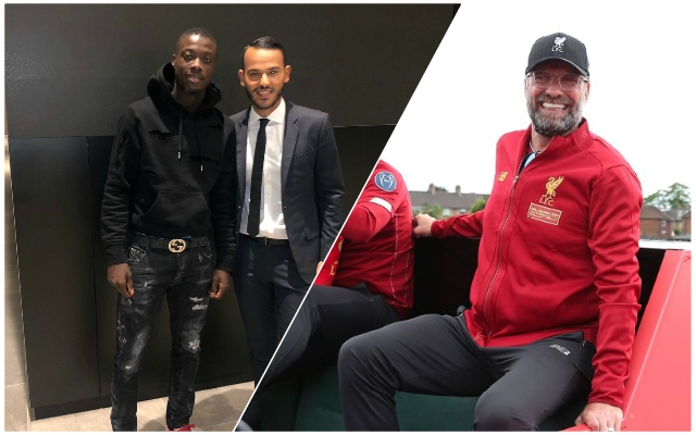 "Reliable source who broke Fekir & Fabinho news claims Reds are ""well-placed"" on Pépé transfer"