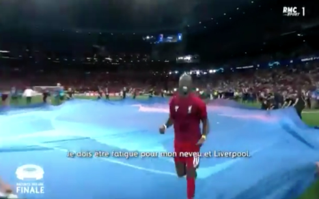 (Video) – New footage shows Mané's endearing post-CL final celebrations