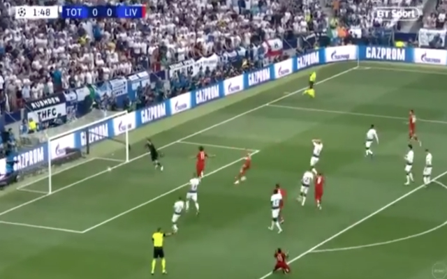 (Video) – Mané was every Red when Salah scored his CL final pen