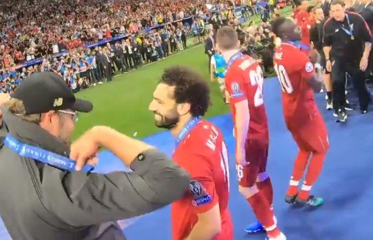 (Video) Mane surprises fans in unseen UCL final clip