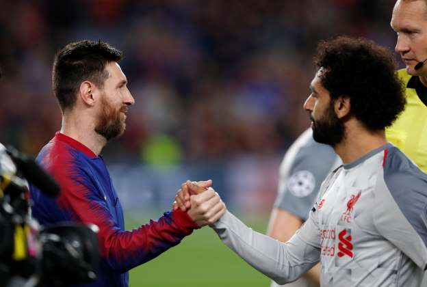 Incredible stats shows Salah and Messi are a cut above the rest
