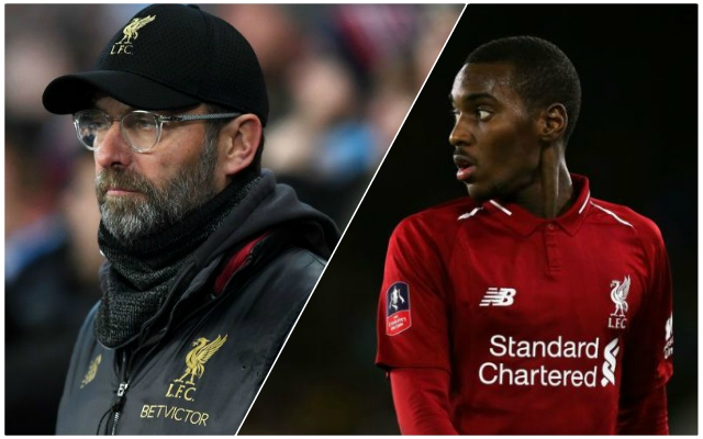 Reds youngster ready to leave for free after report claims Klopp broke promise
