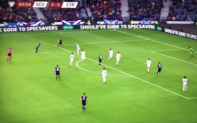(Video) – Robbo scores incredible long-range screamer for Scotland