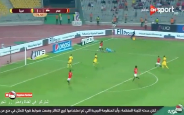(Video) – Salah leaves 'keeper for dead as he sets up assist for Egypt