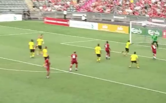 (Video) – Salif Diao fires home opener in LFC Legends match