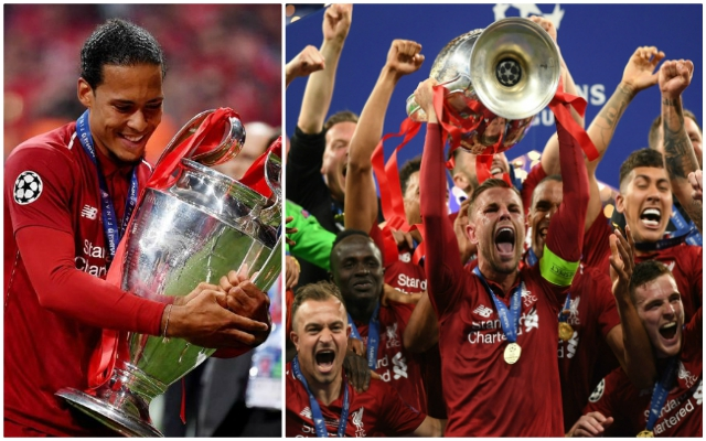 Van Dijk salutes Henderson after he captains Reds to CL glory