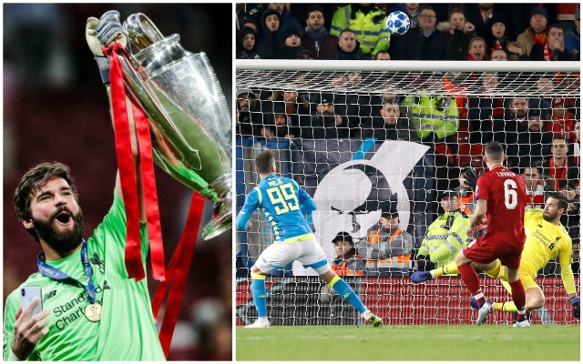 (Video) Alisson's highlights reel from the Champions League proves he's a Ballon d'Or contender