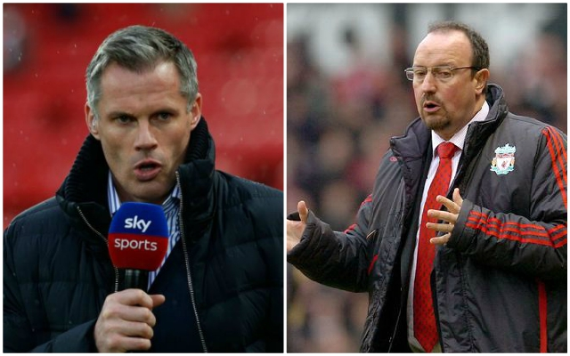 Carragher: I never understood why Rafa Benitez bought former Reds teammate