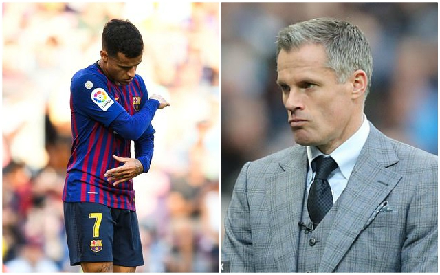Carra gives his definitive verdict on potential Coutinho reunion