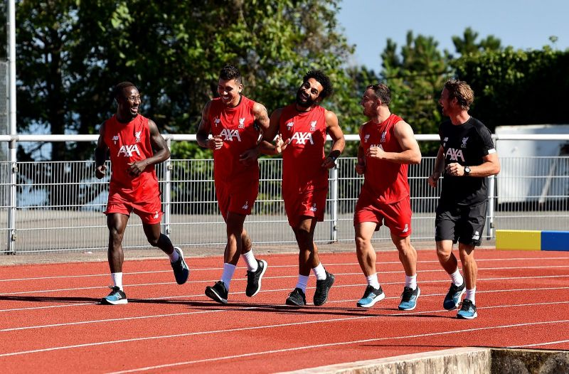 Liverpool fans spot something different about star as he resumes training