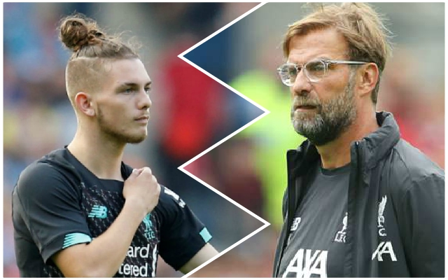 Jurgen Klopp praises 'fine footballer' Harvey Elliott and hints at possible loan move