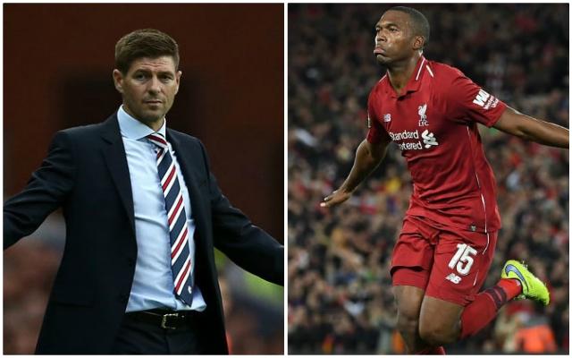 Steven Gerrard's Rangers losing battle to sign Daniel Sturridge as club emerge as favourites