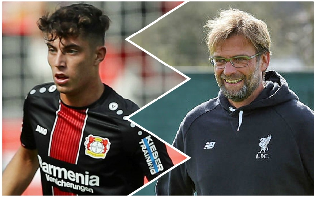 German wonderkid reacts to transfer speculation as Reds are linked with mega-money move