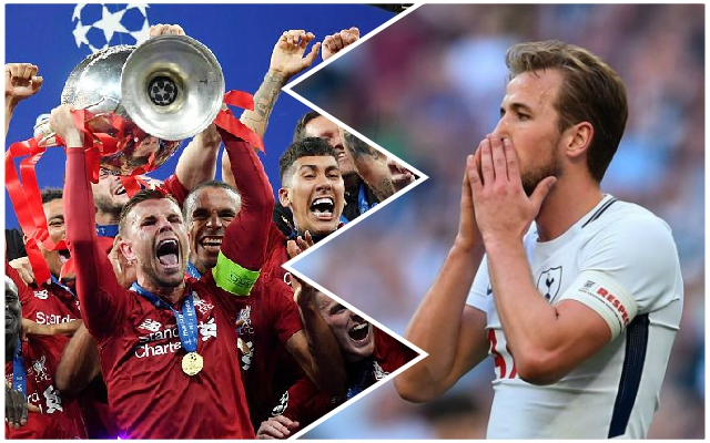 Harry Kane makes strange claim about the Champions League final