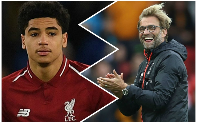 Klopp admits he doesn't tell youngsters 'too much' as he wants them to adapt