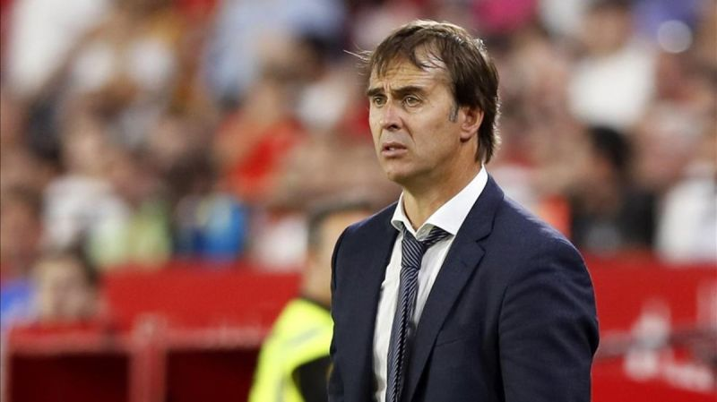 Lopetegui outrageously claims 'it's possible it was a red card'