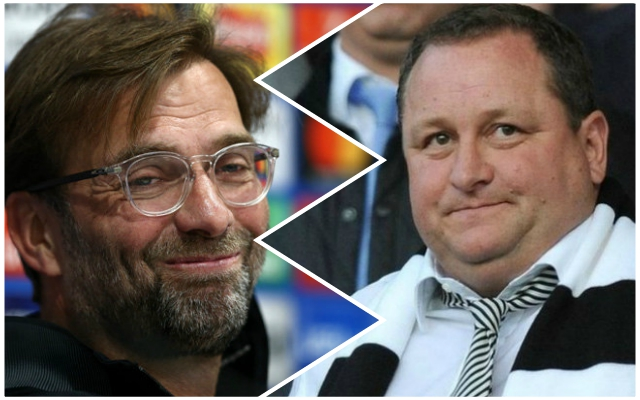 Newcastle owner Mike Ashley claims to have unbelievably good news for the Reds