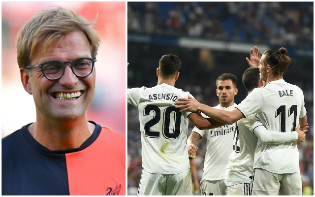 Jurgen Klopp offers interesting reason as to why Reds won't move for Real Madrid man