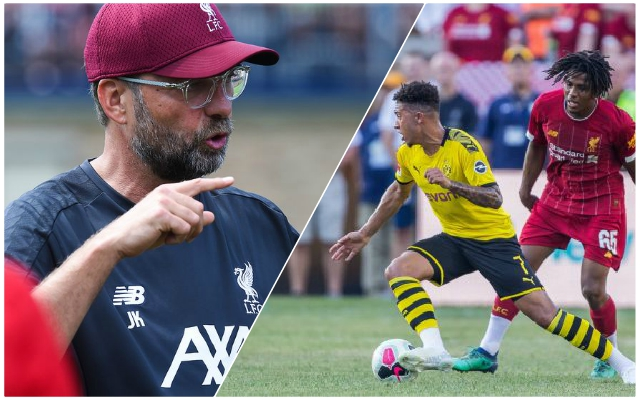 Klopp singles out youngster for special praise after performance in friendly