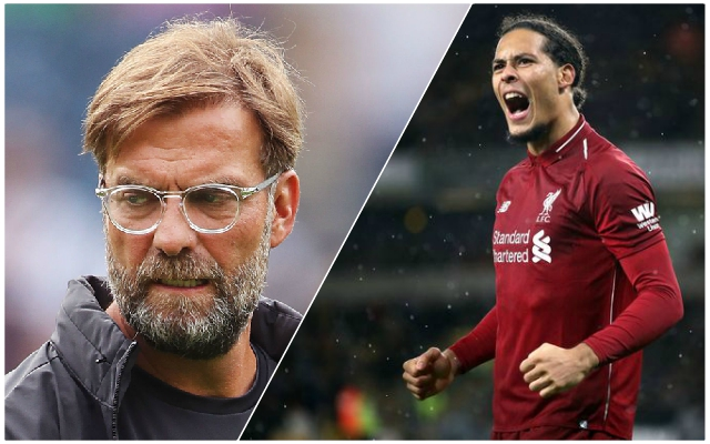 Virgil van Dijk speaks out on Jurgen Klopp 'row' during Napoli defeat