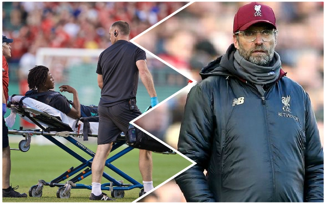 Liverpool 'concerned' over injury to left-back as bruising 'so severe'