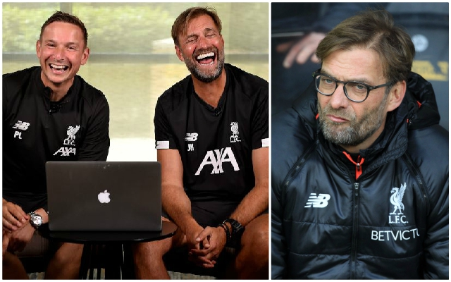 The prime suspect for Jurgen Klopp's Twitter account has spoken