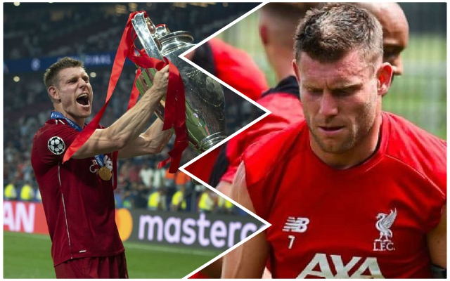 'Piece of cake': Milner explains why the Reds' start to the season is set to be strong