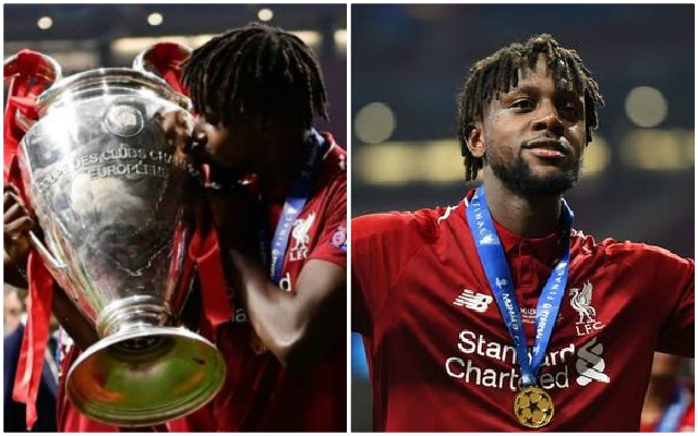Divock Origi outlines the one big thing that's changed for him since last season