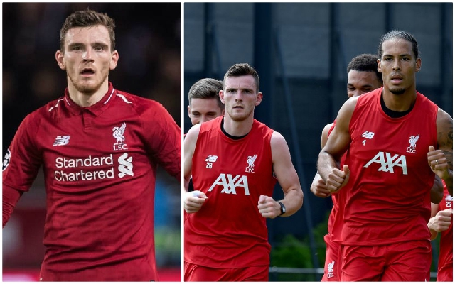 Andy Robertson speaks out on pre-season so far