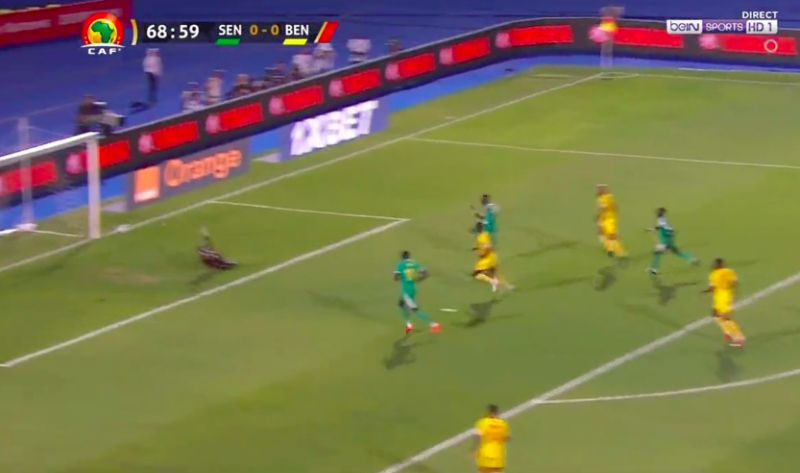 (Video) Sadio Mane's quick-footed assist secures Senegal place in AFCON semis