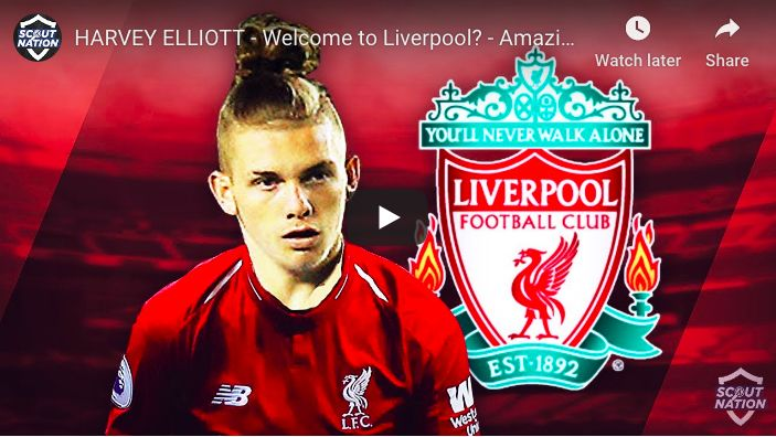 (Video) Finally… A proper, 6 minute Harvey Elliott compilation for Reds to check out